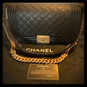 CHANEL Le Boy Flap bag Medium NWT